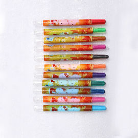 Nietoksyczny Deluxe Artist Twistable Coloured Crayons For Children Toddler